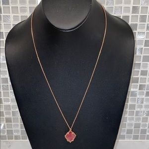 Kendra Scott NEW Rose Gold Necklace